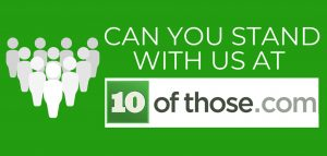 link to - Can you stand with us - 10 of those